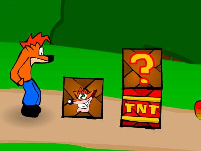 Crash Bandicoot online hra
