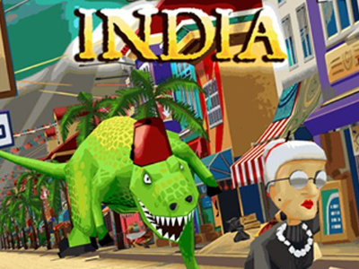 Angry Gran Run: India online game