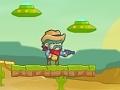 Cowboy vs Martians online hra
