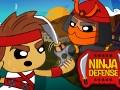 Ninja Defense online hra