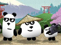 3 Pandas in Japan online game