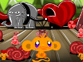 Monkey Go Happy Valentines online hra