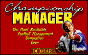 Championship Manager online hra