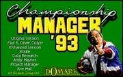 Championship Manager 93-94 online hra