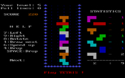 Tetris online hra