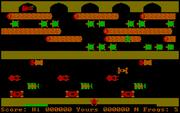 Frogger online hra