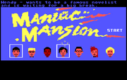 Maniac Mansion online hra