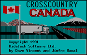 Crosscountry Canada online hra