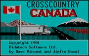 Crosscountry Canada online game