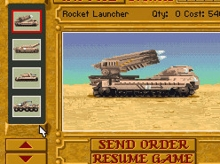 Dune 2 - The Building of a Dynasty online hra