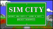 SimCity online game