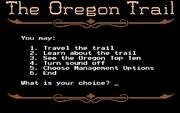 Oregon Trail, The online hra