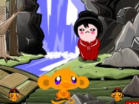 Monkey Go Happy Ninjas 2 online hra