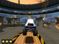 Monster Truck 3D Arena Stunts online hra