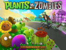 Plants vs Zombies online hra