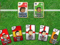 Sports Heads Cards: Squad Swap online hra