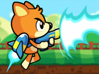 Bear in Super Action Adventure online hra