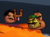 Mustache Attack oнлайн-игра