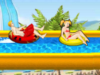 Uphill Rush 7: Waterpark online game