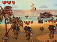 Monkey Defense online game
