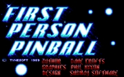 1st Person Pinball online hra