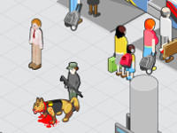 5 Minutes To Kill Yourself: Airport online game