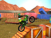 Trials Gold 3D online game
