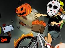 Newspaper Boy Halloween online game