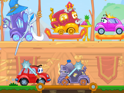 Wheely 6: Fairytale online game