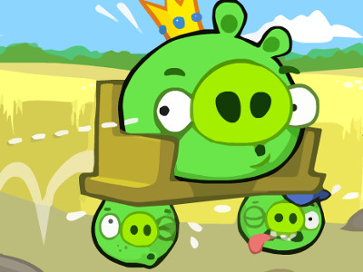 Bad Piggies Online 2016 oнлайн-игра