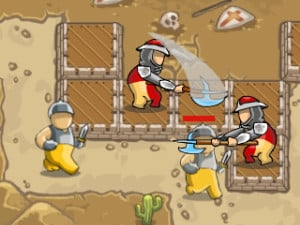 Crusader Defense: Level Pack online game