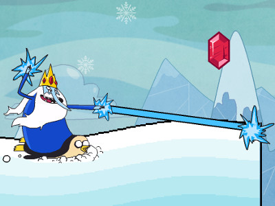 Adventure Time: Romance On Ice online hra