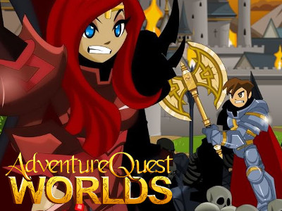 AdventureQuest Worlds online hra
