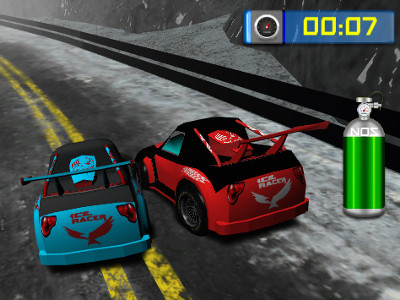 Ice Racer online hra