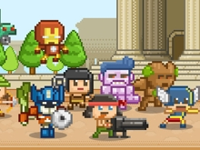 Awesome Happy Heroes online game
