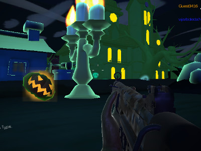 Halloween Multiplayer Shooter online game