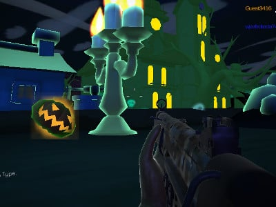 Halloween Multiplayer Shooter online hra