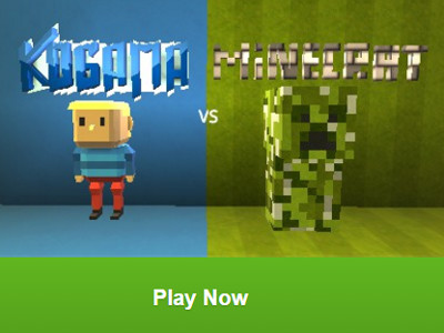 Kogama vs. Minecraft online game
