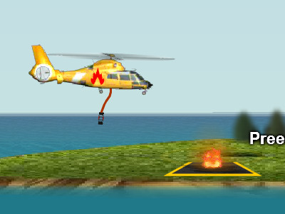 Fire Helicopter online game