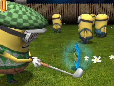 Minion Golf online hra
