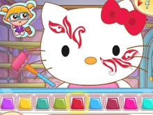 Hello Kitty Face Painting online game