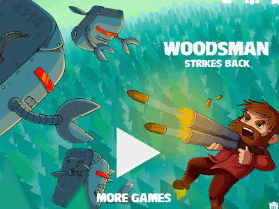 Woodsman Strikes Back online game