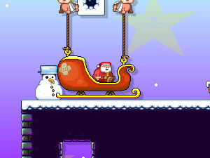 Santa Run 3 online game