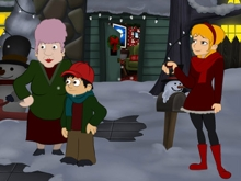 A Christmas Blackout  online game