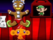 Monkey GO Happy Elves online hra
