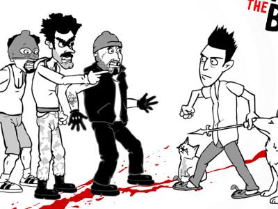 Whack the Burglars oнлайн-игра