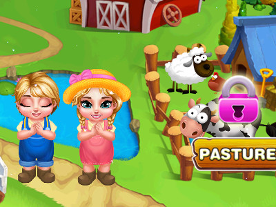 Royal Twins: Cute Farm  online game