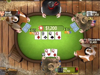 Governor of Poker 3 online game