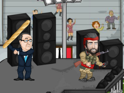 Presidents vs Terrorists online hra