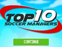 Top 10 Soccer Managers online game
